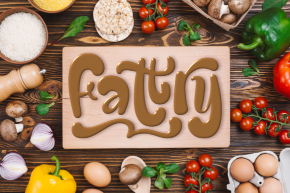 Print on Demand: Fattry Display Font By Situjuh