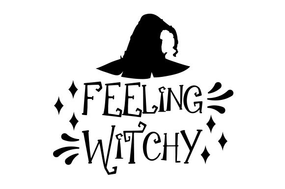 Download Free Feeling Witchy Svg Cut File By Creative Fabrica Crafts for Cricut Explore, Silhouette and other cutting machines.