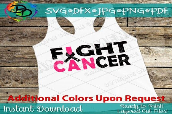 Download Free Fight Cancer Svg Cancer Ribbon Graphic By Dynamicdimensions for Cricut Explore, Silhouette and other cutting machines.