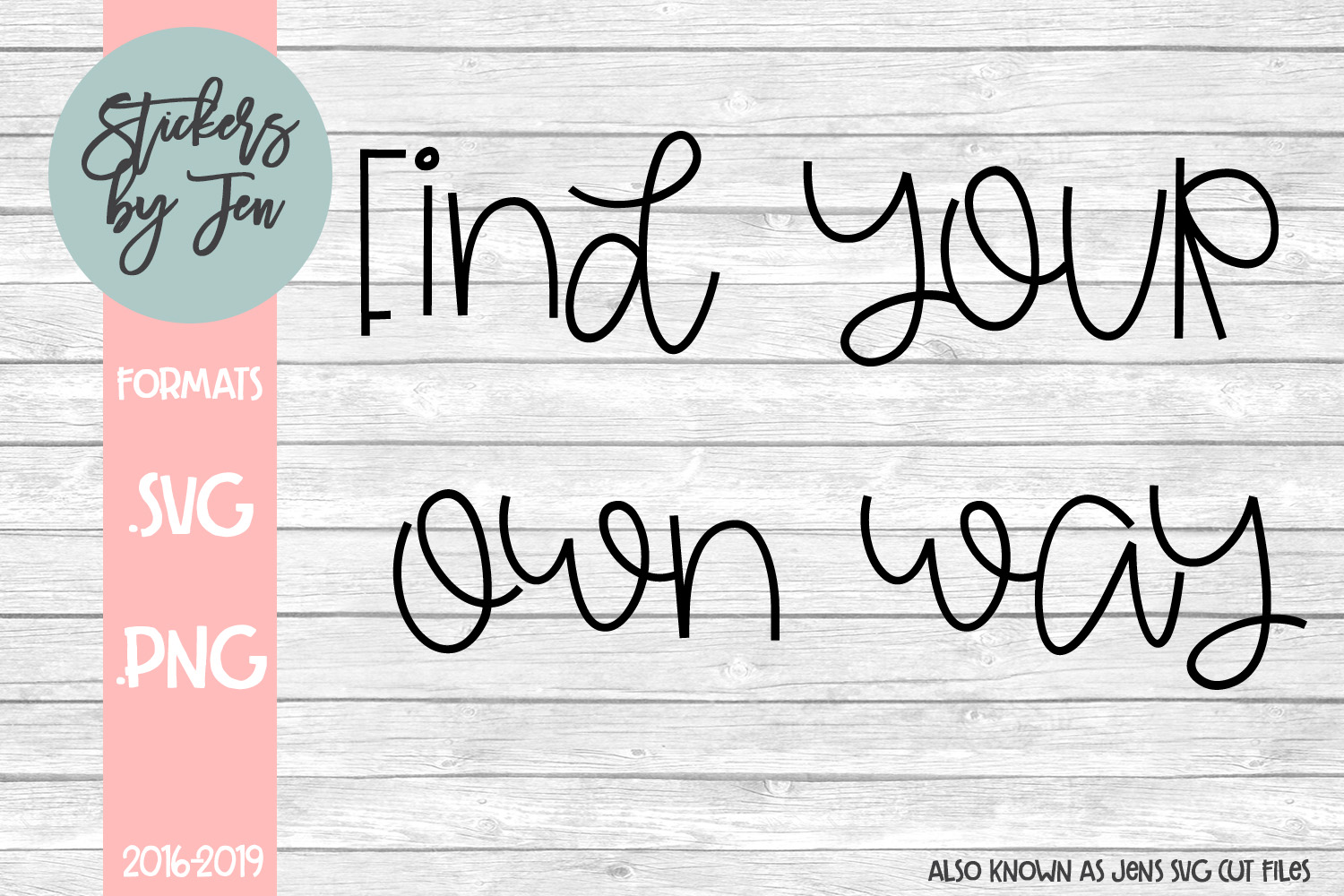 Download Free Find Your Own Way Svg Grafico Por Jens Svg Cut Files Creative for Cricut Explore, Silhouette and other cutting machines.