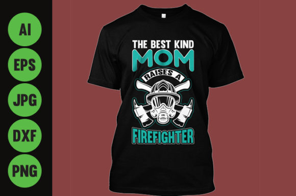 Download Free Firefighter T Shirt Design Grafico Por Storm Brain Creative Fabrica for Cricut Explore, Silhouette and other cutting machines.