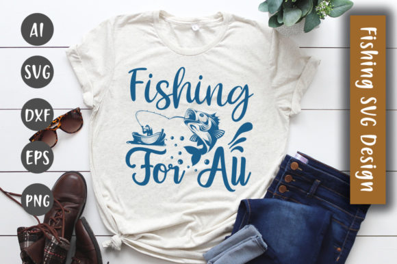 Print on Demand: Fishing for All Design Graphic Crafts By CreativeArt