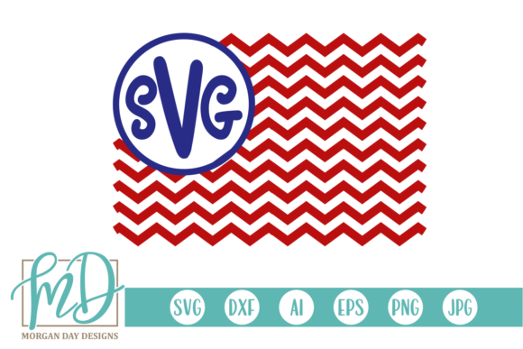 Download Free Flag Monogram Svg Graphic By Morgan Day Designs Creative Fabrica for Cricut Explore, Silhouette and other cutting machines.