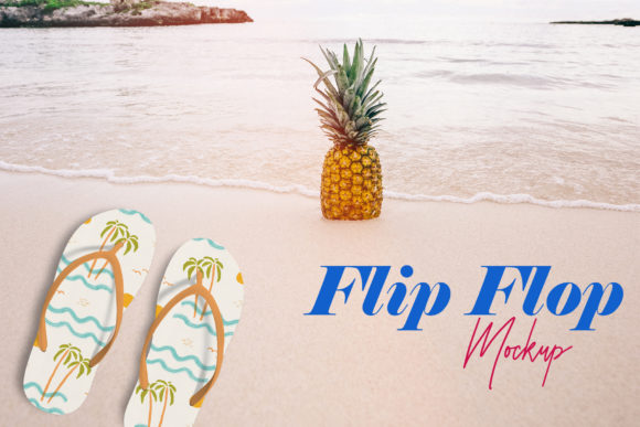 Flip Flop Mock-Up Graphic By gumacreative