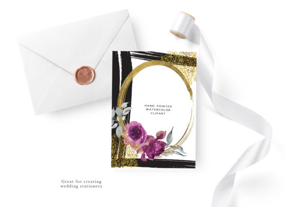 Floral 5x7 Invitation Design Collection Graphic By Patishop Art Image 9