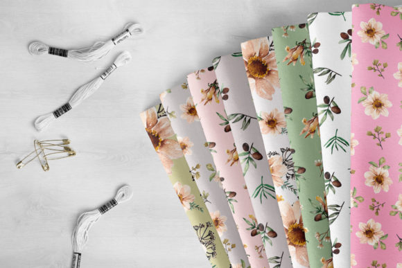Floral Botanical Watercolor Set Graphic By Typia Nesia Image 3