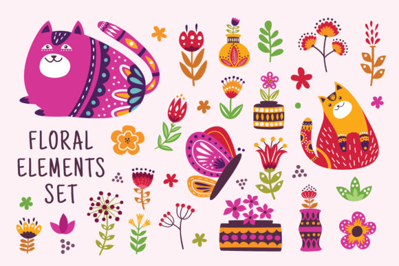 Floral Graphics and Illustration Graphic Illustrations By AllmoStudio - Image 1