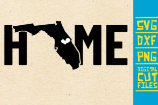 Florida Home State Vector Usa Graphic By Svgyeahyouknowme
