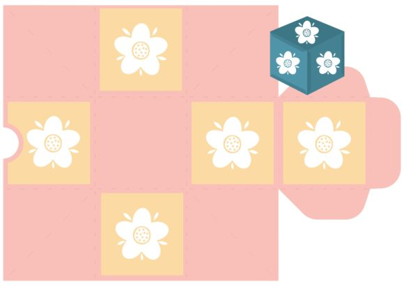 Print on Demand: Flower Party Graphic 3D SVG By jgalluccio - Image 4