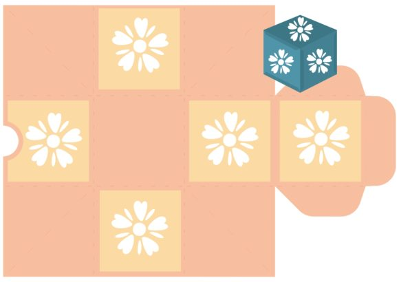 Print on Demand: Flower Party Graphic 3D SVG By jgalluccio - Image 5
