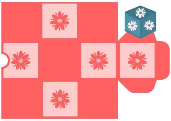 Print on Demand: Flower Party Graphic 3D SVG By jgalluccio - Image 1