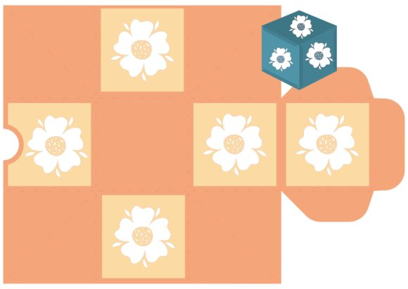 Print on Demand: Flower Party Graphic 3D SVG By jgalluccio - Image 8