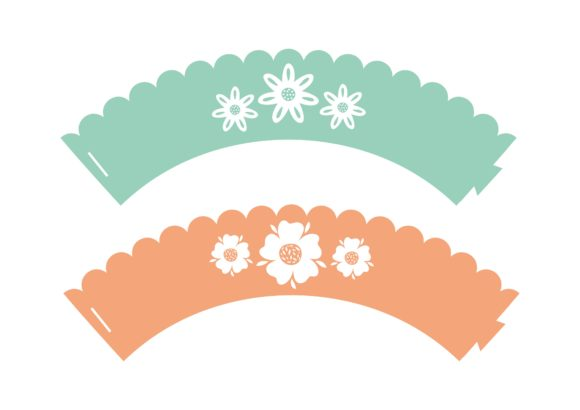 Print on Demand: Flower Party Graphic 3D SVG By jgalluccio - Image 9