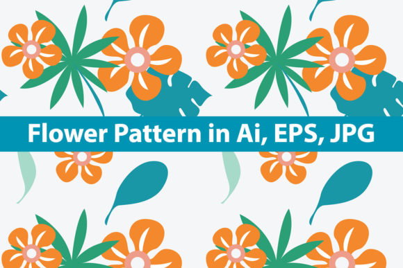 Download Free Flower Pattern Graphic By Purplebubble Creative Fabrica for Cricut Explore, Silhouette and other cutting machines.