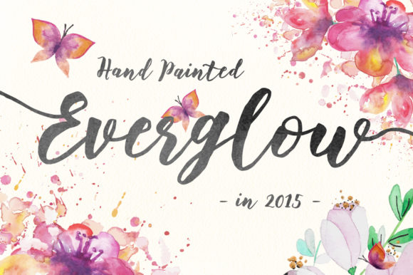 Floweress Font By FadeLine Image 6