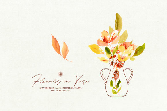 Flowers in Vase Graphic Illustrations By webvilla - Image 3
