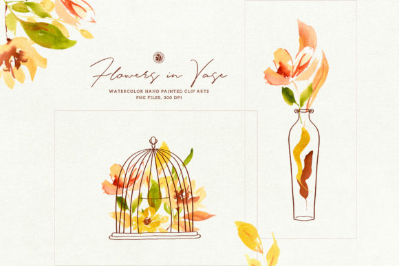 Flowers in Vase Graphic Illustrations By webvilla
