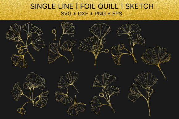 Download Free Foil Quill Golden Crystals Vol 5 Graphic By Mystocks Creative for Cricut Explore, Silhouette and other cutting machines.