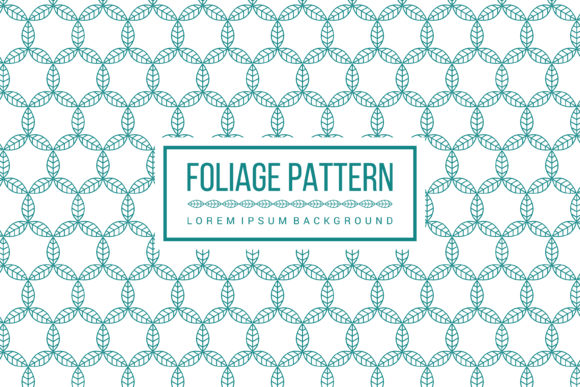 Print on Demand: Foliage Pattern Graphic Patterns By noory.shopper