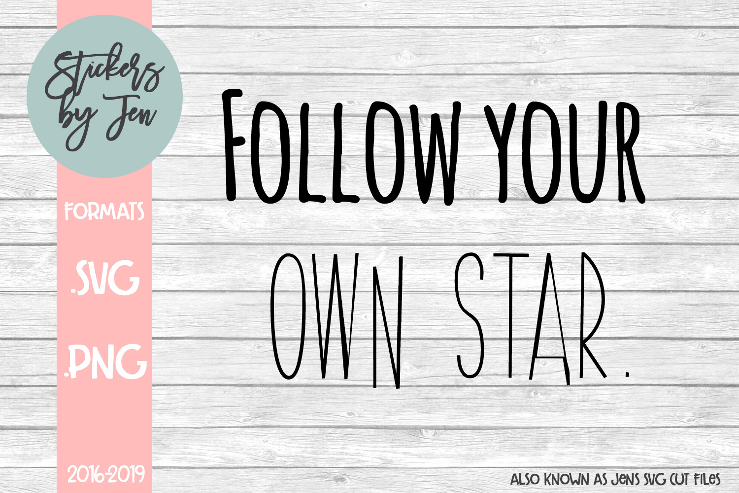 Download Free Follow Your Own Star Svg Grafico Por Jens Svg Cut Files for Cricut Explore, Silhouette and other cutting machines.