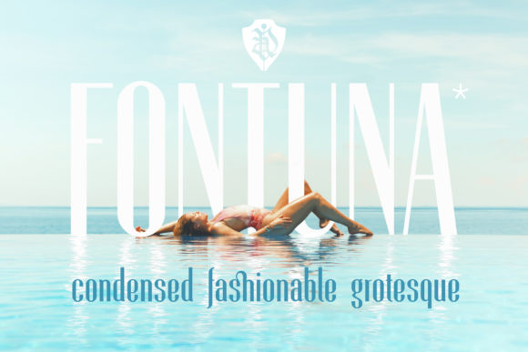 Print on Demand: Fontuna Sans Serif Font By NREY - Image 1