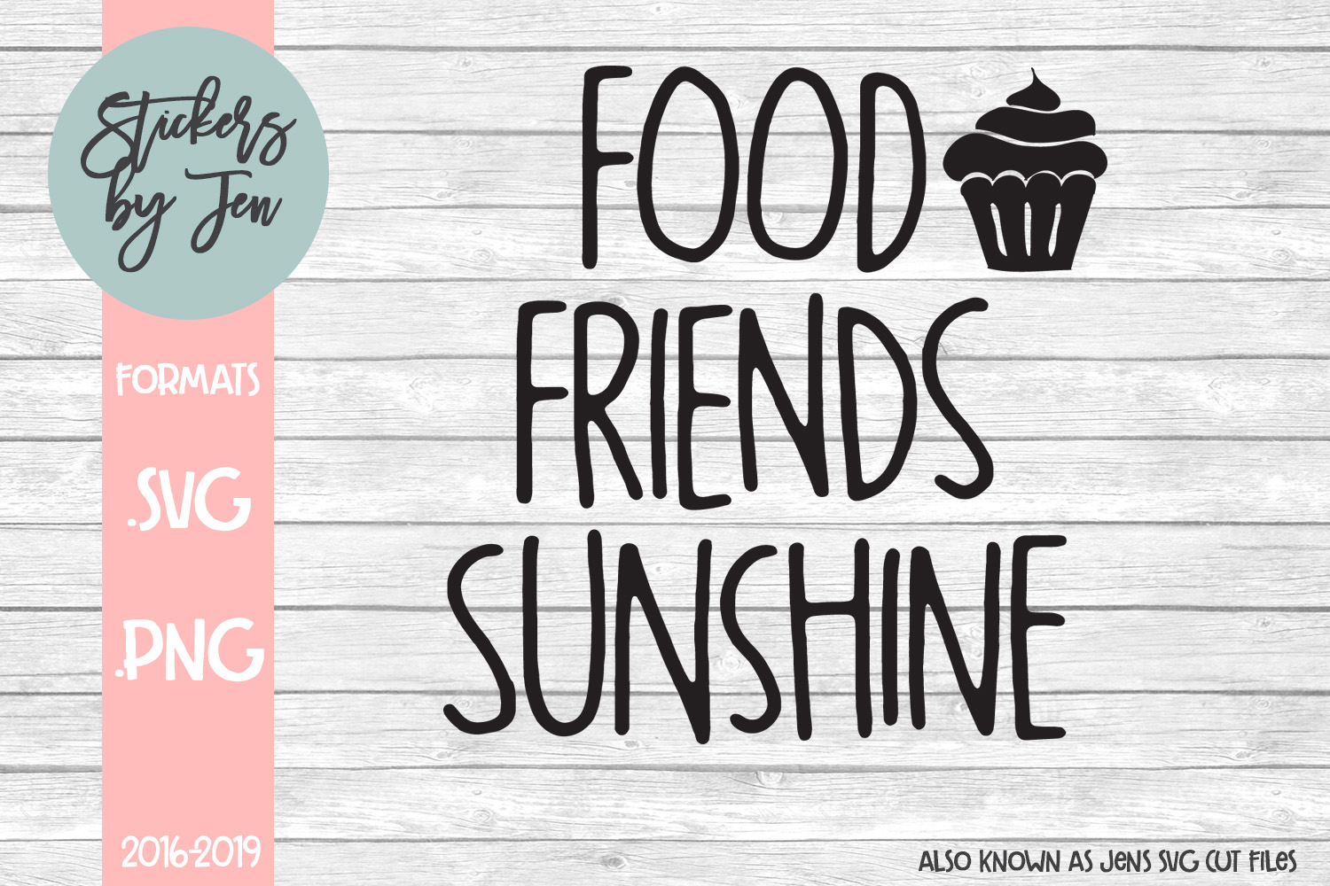 Download Free Food Friend Sunshine Svg Graphic By Stickers By Jennifer for Cricut Explore, Silhouette and other cutting machines.