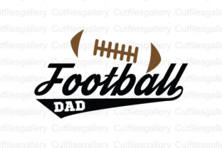 Download Free Football Dad Svg Graphic By Cutfilesgallery Creative Fabrica for Cricut Explore, Silhouette and other cutting machines.