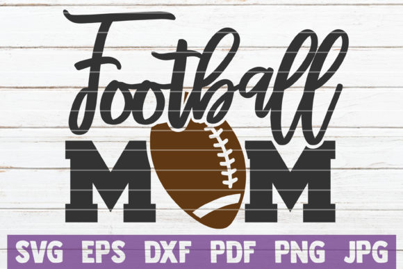 Football Mom SVG Bundle   Cut Files Graphic Graphic Templates By MintyMarshmallows - Image 4