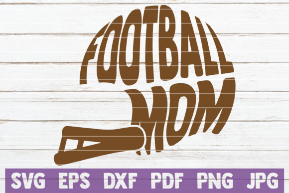 Football Mom SVG Bundle   Cut Files Graphic Graphic Templates By MintyMarshmallows - Image 5
