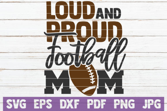 Football Mom SVG Bundle   Cut Files Graphic Graphic Templates By MintyMarshmallows - Image 6