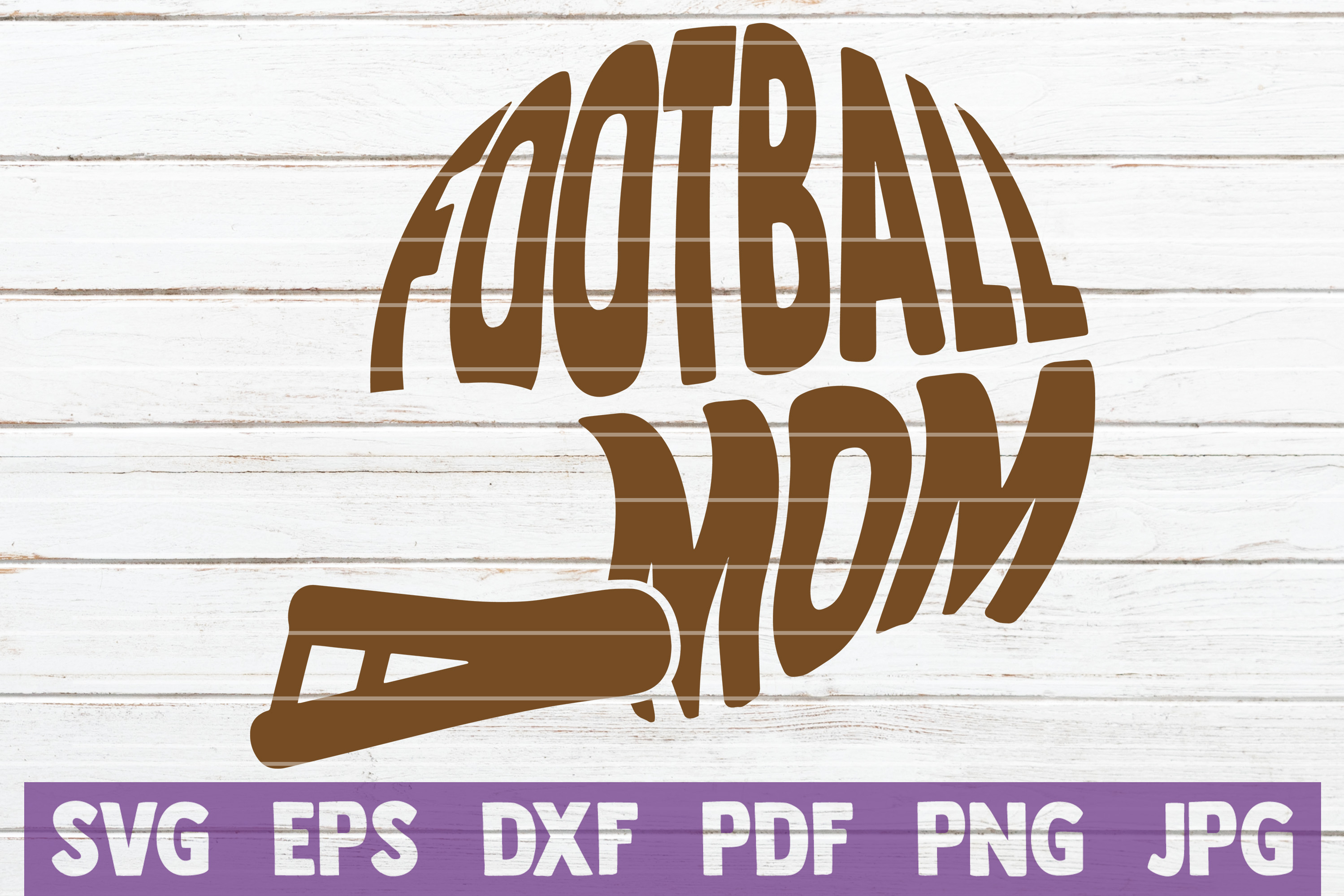 Download Free Football Mom Svg Cut File Graphic By Mintymarshmallows for Cricut Explore, Silhouette and other cutting machines.