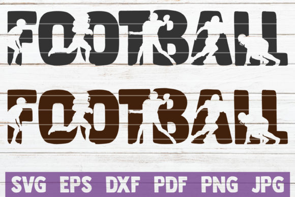 Download Free Football Graphic By Mintymarshmallows Creative Fabrica for Cricut Explore, Silhouette and other cutting machines.