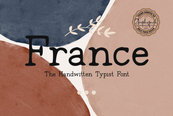Print on Demand: France Serif Font By Graphicfresh - Image 1