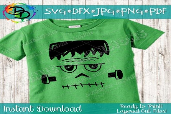 Print on Demand: Frankenstein Graphic Crafts By dynamicdimensions - Image 1