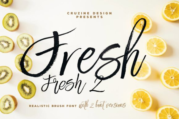 Print on Demand: Fresh Script & Handwritten Font By JumboDesign