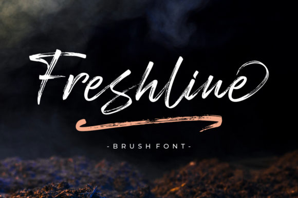 Print on Demand: Freshline Script & Handwritten Font By Megatype