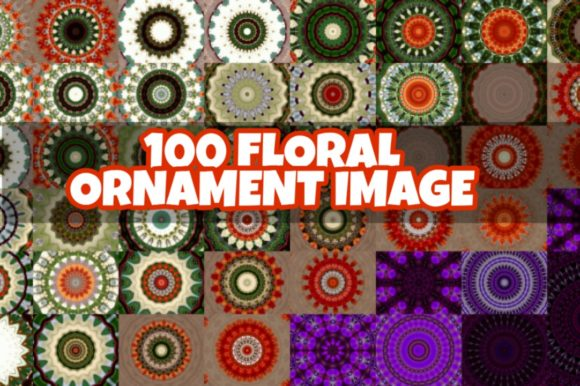 Full Ornament Image Pack Graphic Backgrounds By ahmaddesign99