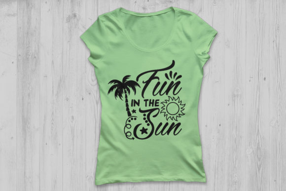 Print on Demand: Fun in the Sun SVG Graphic Crafts By CosmosFineArt - Image 2