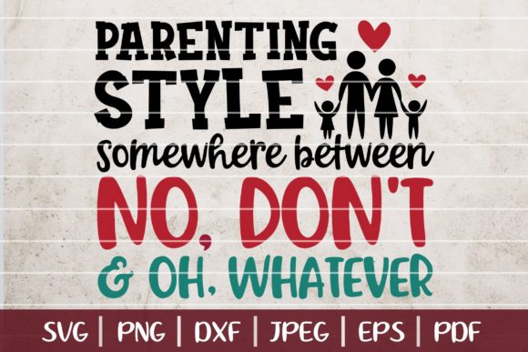 Funny Parents Graphic Logos By SeventhHeaven Studios