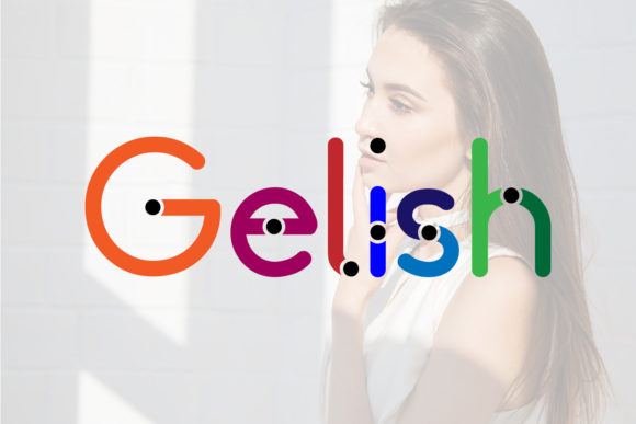 Print on Demand: Gelish Sans Serif Font By da_only_aan - Image 1