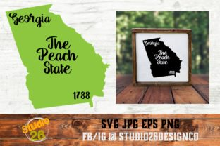Download Free Georgia State Nickname Graphic By Studio 26 Design Co for Cricut Explore, Silhouette and other cutting machines.