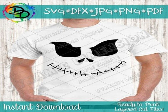 Download Free Ghost Pumpkin Face Grafico Por Dynamicdimensions Creative Fabrica for Cricut Explore, Silhouette and other cutting machines.