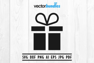 Download Free Gift Box Clip Art Svg Grafik Von Vectorbundles Creative Fabrica for Cricut Explore, Silhouette and other cutting machines.