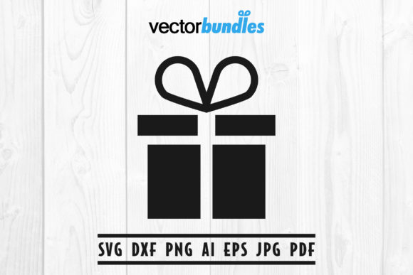 Download Free Gift Box Clip Art Svg Graphic By Vectorbundles Creative Fabrica for Cricut Explore, Silhouette and other cutting machines.