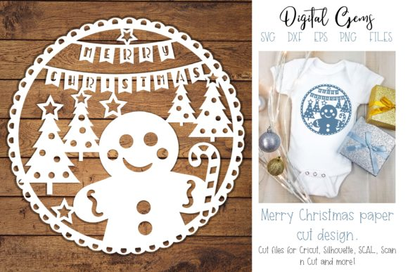 Gingerbread Man, Christmas Design Graphic By Digital Gems