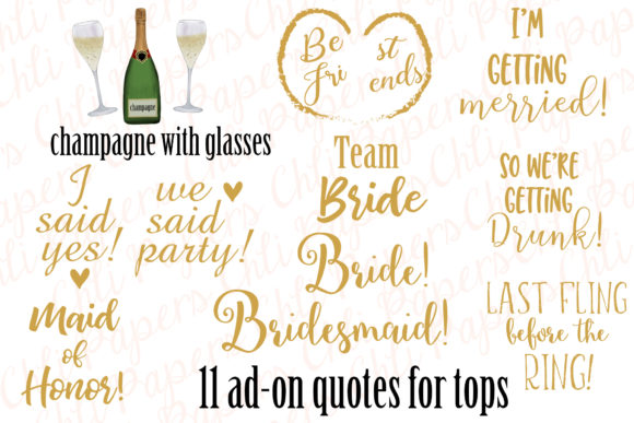 Download Free Girl Best Friend Clipart Bachelorettes Graphic By Chilipapers for Cricut Explore, Silhouette and other cutting machines.