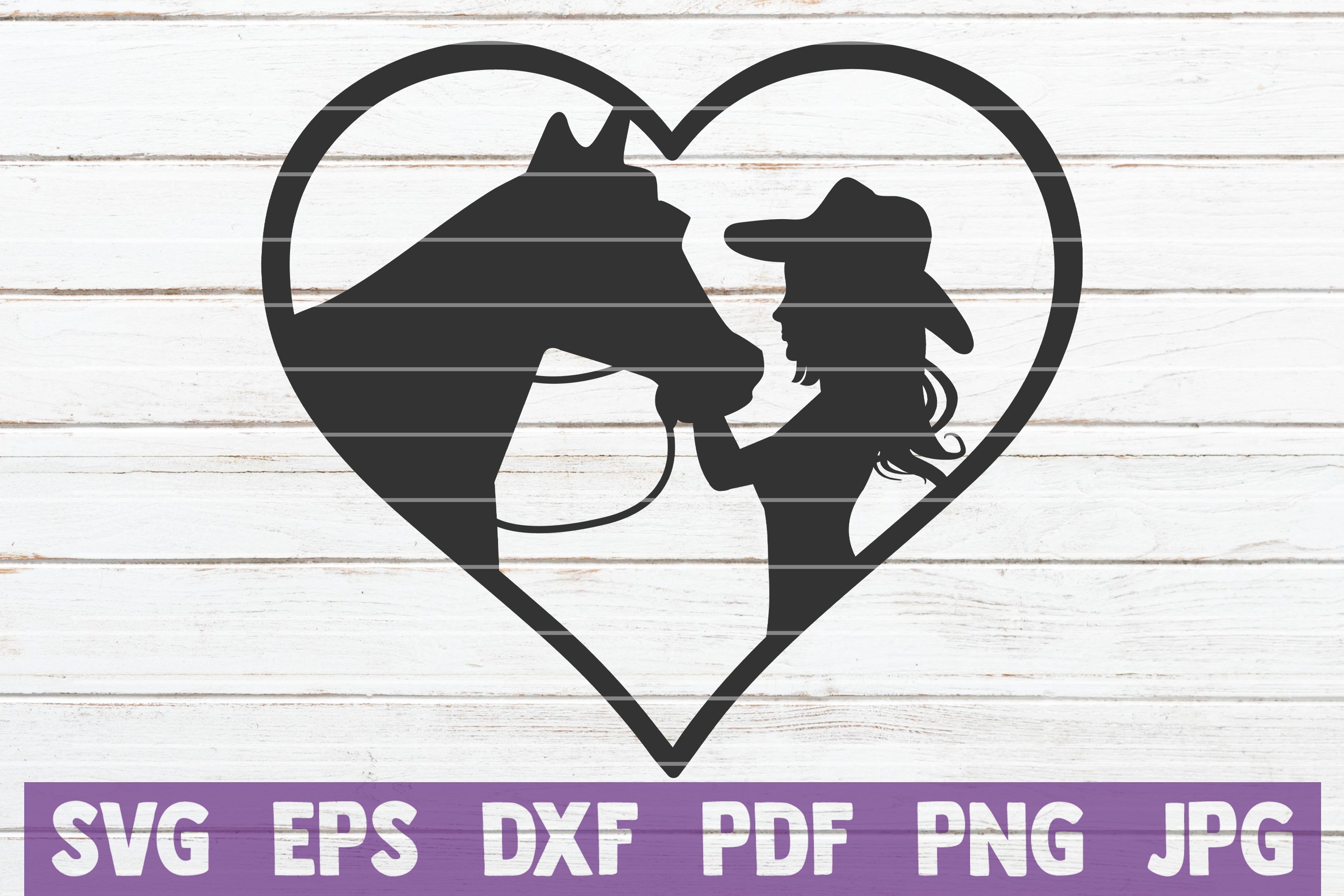 Girl Kissing Horse Svg Cut File Graphic By Mintymarshmallows