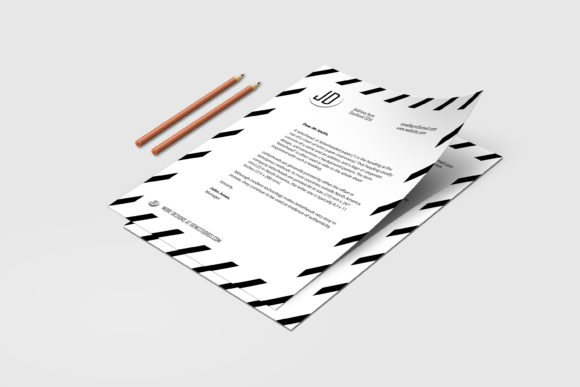 Download Free Gladiolus A Modern Letterhead Template Grafico Por Denestudios for Cricut Explore, Silhouette and other cutting machines.