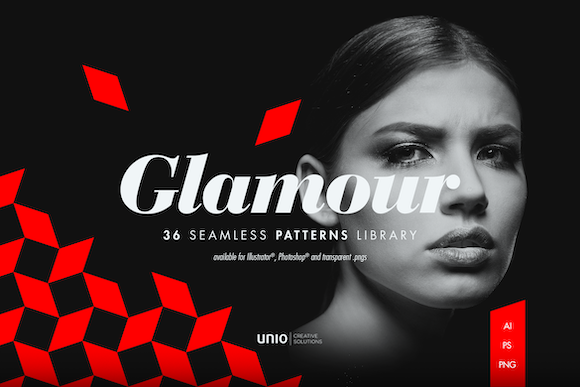 Glamour Patterns Graphic By unio.creativesolutions