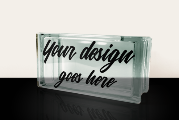 Glass Block Product Mock Up Set Graphic Product Mockups By RisaRocksIt - Image 2